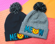 MEOW Ginger Cat Bobble Hat