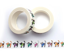 Sweater Cats Washi Tape