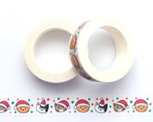 Christmas Cats Washi Tape