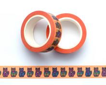Spiral Cats Washi Tape