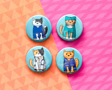 Medical Cats - Badges