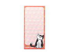 PAWS Cat Notepad with optional magnet