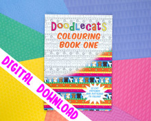 DIGITAL DOWNLOAD - Cat Colouring Book - Volume One