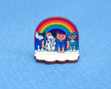 Rainbow Medics Cat Standee