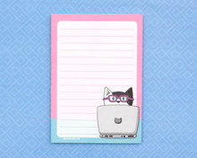 Computer Cat - A6 Notepad
