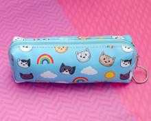 Rainbow Sunshine Cats Pencil Case pouch