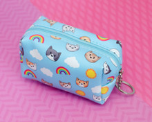 Rainbow Sunshine Cats Mini pouch