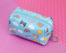 Rainbow Sunshine Cats Mini pouch