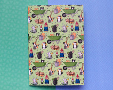 Gardening Cats Notebook - LINED