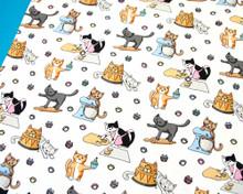 Baking Cats Tea Towel
