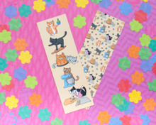 Baking Cats Bookmarks x2