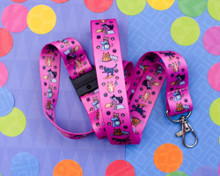 Baking Cats - Lanyard  - with Safety Clip