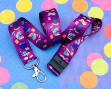 BookCats - Lanyard  - with Safety Clip
