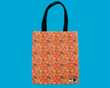 Pumpkin Cat Canvas Bag