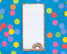 Rainbow Cat Notepad with optional magnet