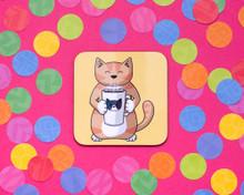 Coffee Cat - Coaster