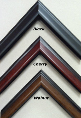 Black, Cherry and Walnut