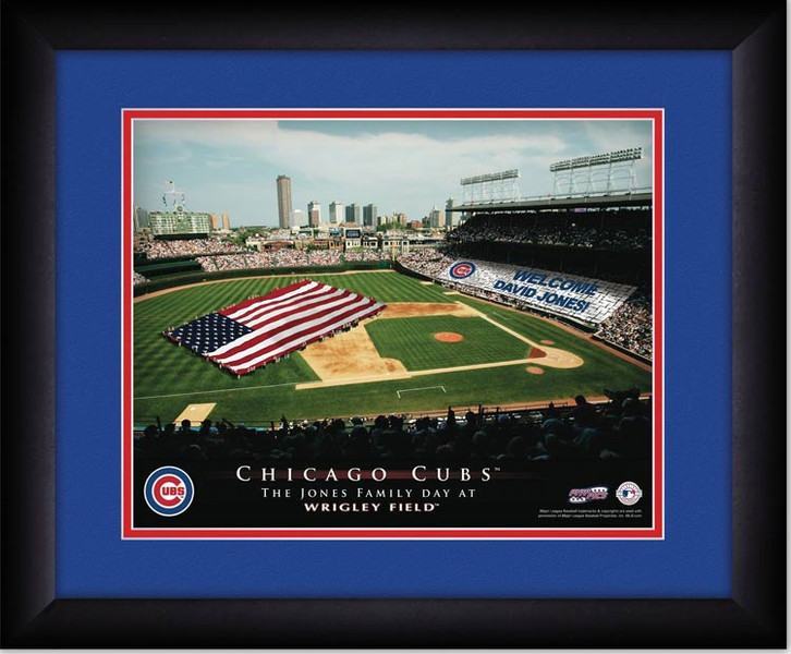 Cubs Personalized Sign Your Day at Wrigley Field