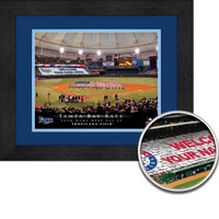 Rays Personalized Sign Your Day at Tropicana Field
