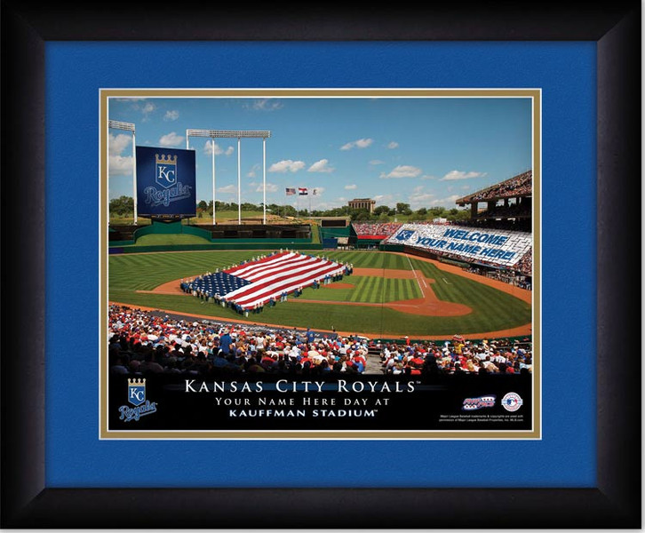 Royals Personalized Sign Your Day at Kauffman Stadium