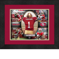 Personalized San Francisco 49ers Action Collage