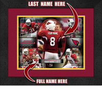 Personalized Arizona Cardinals Action Collage