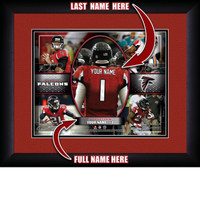 Personalized Atlanta Falcons Action Collage