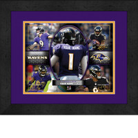 Personalized Baltimore Ravens Action Collage