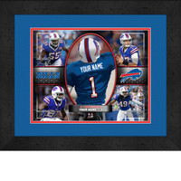 Personalized Buffalo Bills Action Collage