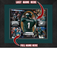 Personalized Philadelphia Eagles Action Collage