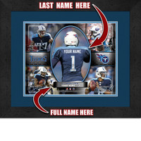 Personalized Tennessee Titans Action Collage