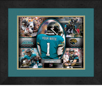 Personalized Jacksonville Jaguars Action Collage