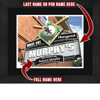 Chicago White Sox Personalized Pub Room Sign
