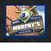 Kansas City Royals Personalized Pub Room Sign