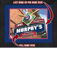 Minnesota Twins Personalized Pub Room Sign