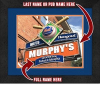 New York Mets Personalized Pub Room Sign