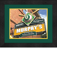Oakland Athletics Personalized Pub Room Sign