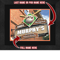San Francisco Giants Personalized Pub Room Sign