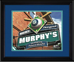 Seattle Mariners Personalized Pub Room Sign