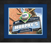 Tampa Bay Rays Personalized Pub Room Sign