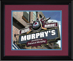 Colorado Avalanche Personalized Pub Room Sign