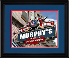 Columbus Blue Jackets Personalized Pub Room Sign