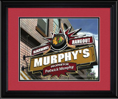 Chicago Blackhawks Personalized Pub Room Sign
