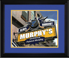 St. Louis Blues Personalized Pub Room Sign