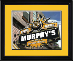 Boston Bruins Personalized Pub Room Sign
