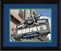 Vancouver Canucks Personalized Pub Room Sign