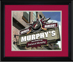 Phoenix Coyotes Personalized Pub Room Sign