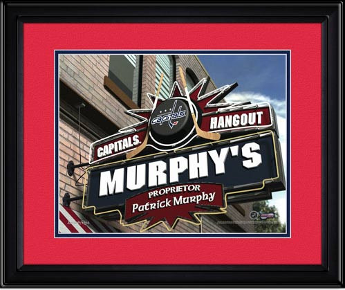 Washington Capitals Personalized Pub Room Sign