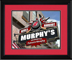 New Jersey Devils Personalized Pub Room Sign