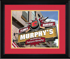 Calgary Flames Personalized Pub Room Sign